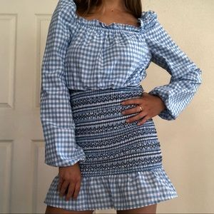 NWOT THE FIFTH LABEL GINGHAM DRESS